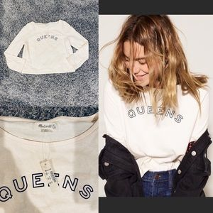 "MADEWELL ""QUEENS"" BOXY CUT LONG SLEEVE"
